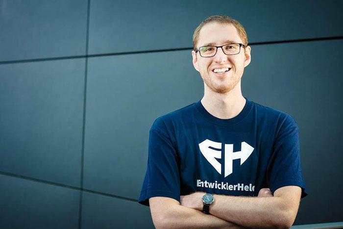 Felix Hanspach, CEO, Co-Founder of EntwicklerHeld