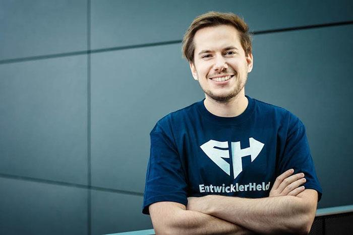 Philipp Dienst, Head of UX, Co-Founder of EntwicklerHeld